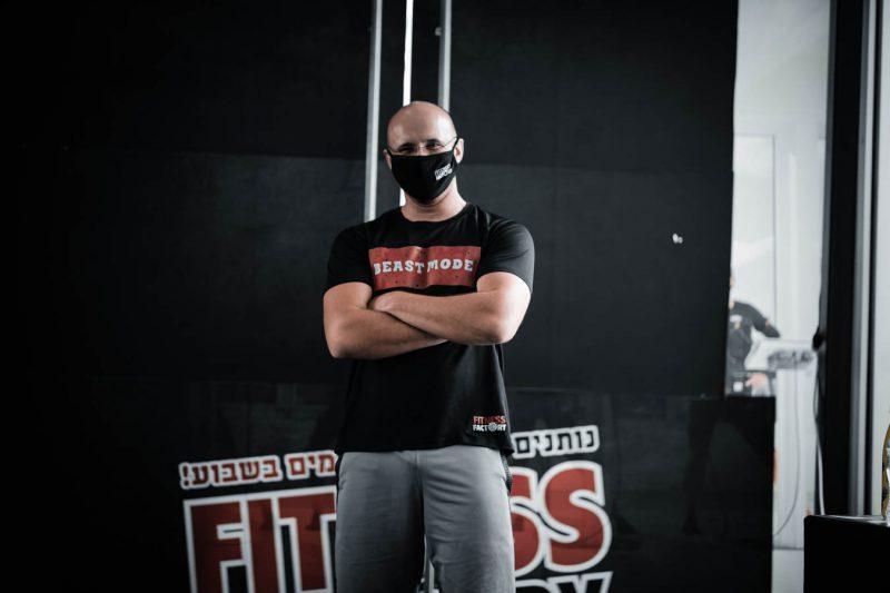 חדר כושר fitness factory גני תקווה